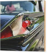 1958 Mercury Park Lane Tail Light Wood Print
