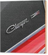 1967 Dodge Charger Wood Print