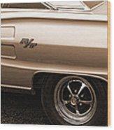 1967 Dodge Coronet Rt Wood Print