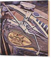 1969 Bsa Js Wood Print