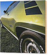 1971 Plymouth Gtx Wood Print by Gordon Dean II