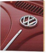 1973 Volkswagen Beetle Wood Print