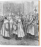 1st Vatican Council, 1869 Wood Print