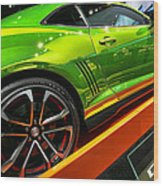 2012 Chevy Camaro Hot Wheels Concept Wood Print