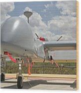 A Heron Tp Unmanned Aerial Vehicle Wood Print
