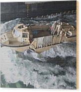 A Lighter Amphibious Re-supply Cargo Wood Print