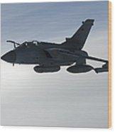 A Luftwaffe Tornado Ids Over Northern Wood Print
