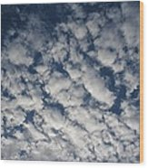 A View Of A Cloud-filled Sky Over Miami Wood Print