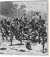 Aborigines, 19th Century Wood Print
