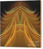 Abstract 102 Wood Print