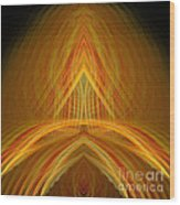 Abstract 105 Wood Print