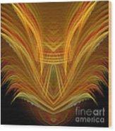 Abstract 107 Wood Print