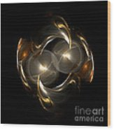 Abstract 113 Wood Print