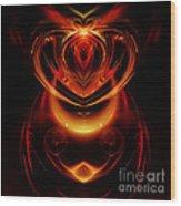Abstract 166 Wood Print