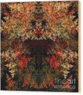 Abstract 177 Wood Print