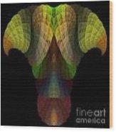Abstract 203 Wood Print