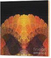 Abstract 204 Wood Print