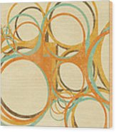 Abstract Circle Wood Print