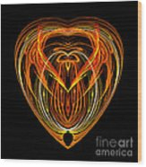 Abstract Eighty-nine Wood Print