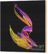 Abstract Fifty-four Wood Print