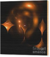 Abstract Fifty-three Wood Print