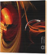 Abstract Four Wood Print