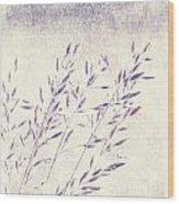 Abstract Gras Wood Print