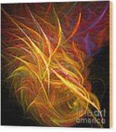 Abstract Ninety-nine Wood Print