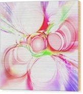 Abstract Of Circle  Wood Print