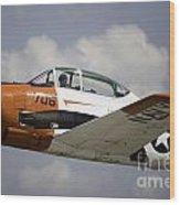 Air Show 6 Wood Print