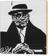 Al Capone Wood Print