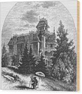 Albert Bierstadt (1830-1902) Wood Print by Granger