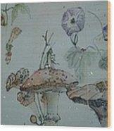 Album Of Crickets Wood Print