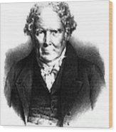 Alexander Monro IIi, Scottish Anatomist Wood Print