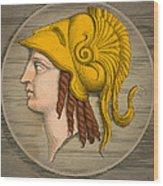 Alexander The Great, Greek King Wood Print