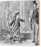 Alger: Tattered Tom Wood Print by Granger