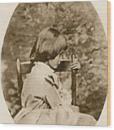 Alice Liddell, Alices Adventures Wood Print