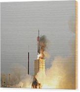 An Arrow Anti-ballistic Missile Wood Print