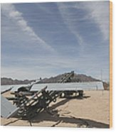 An Rq-7 Shadow Unmanned Aerial Vehicle Wood Print