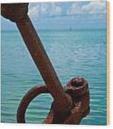 Anchor Wood Print