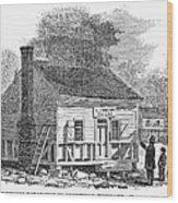 Andrew Johnson: Tailor Wood Print