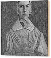 Angelina Emily Grimke Wood Print by Granger