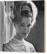 Angie Dickinson, Ca. 1966 Wood Print