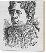Ann Sophia Stephens Wood Print