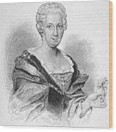 Anna Maria Sibylla Merian Wood Print