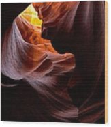 Antelope Canyon Page Arizona Wood Print