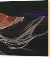 Antelope Canyon Perspective Wood Print
