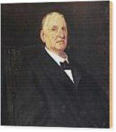 Anton Bruckner (1824-1896) Wood Print