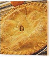 Apple Pie Wood Print