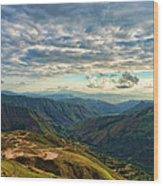 Aragua Valley Wood Print